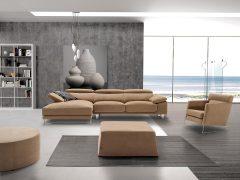 Canapé d'angle chaise longue TOMI
