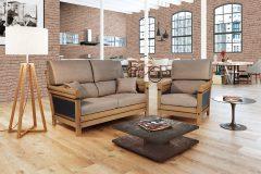 Canapé et fauteuil MANON