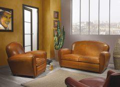 Canapé et fauteuil OX
