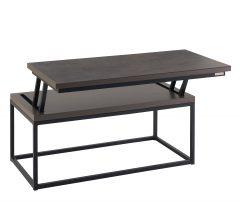 Table basse relevable IDOINE ouverte